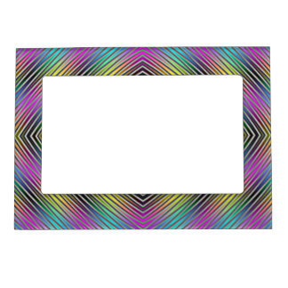 Cadre Photo Magnétique Lignes de diamant