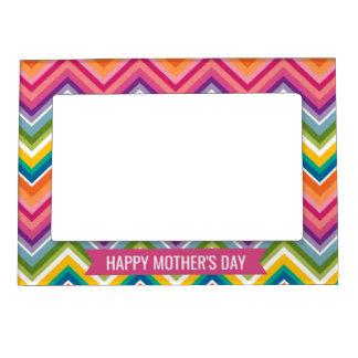 Cadres Aimantés Avec Photo Le jour de mère heureux - avec le motif lumineux