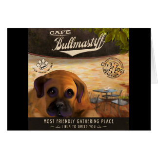 Café Bullmastiff Carte