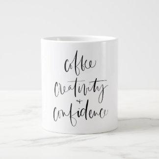 Café, créativité + Tasse de confiance