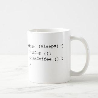 café de Java-scripters Mug Blanc
