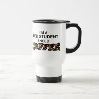 Café du besoin - étudiant de Med Mug De Voyage