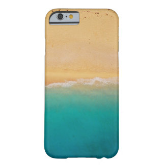 Caisse 6 ou 6s de lapin de plage coque iPhone 6 barely there
