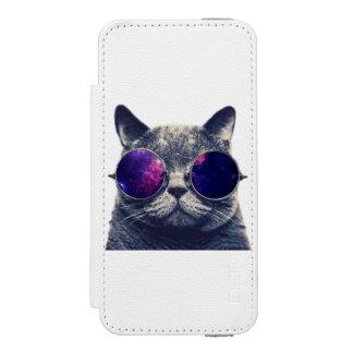 Caisse blanche de portefeuille de Se 5/5s d'iPhone Coque-portefeuille iPhone 5 Incipio Watson™