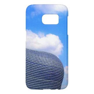 Caisse bleue de téléphone d'arène coque samsung galaxy s7
