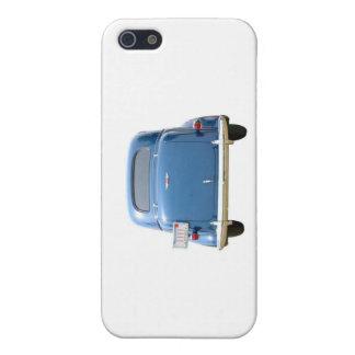 Caisse bleue vintage de l'iPhone 5C de Chevy Étui iPhone 5