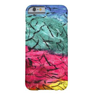 Caisse colorée de smartphone de désordre coque iPhone 6 barely there