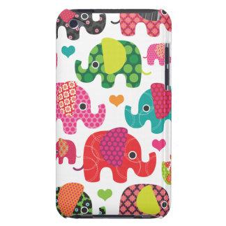 Caisse colorée d'iPod de motif d'enfants d'éléphan Coque Case-Mate iPod Touch