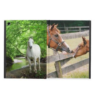 Caisse d'air d'iPad de chevaux Étui iPad Air