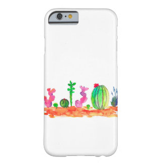caisse de cactus d'aquarelle coque iPhone 6 barely there