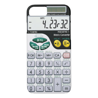 Caisse de calculatrice coque iPhone 7