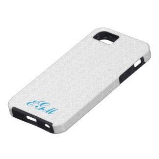 caisse de damassé de monogramme de l'iPhone 5 Coque Case-Mate iPhone 5