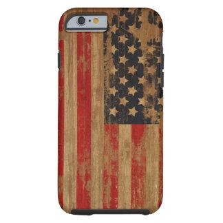 Caisse de drapeau américain coque iPhone 6 tough