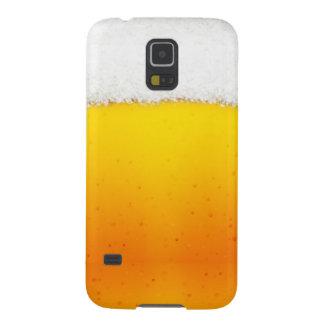 Caisse de la galaxie S5 de la bière des hommes drô Coques Pour Galaxy S5