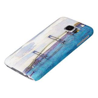 Caisse de la galaxie S6 de Samsung de pont de