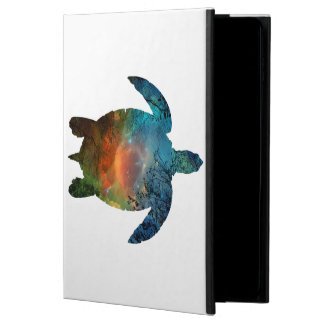 caisse de l'air 2 d'iPad sans la tortue de mer de Coque Powis iPad Air 2