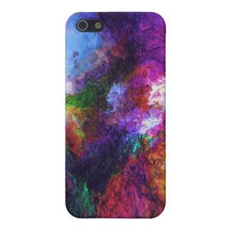 Caisse de point de remous de couleur étuis iPhone 5