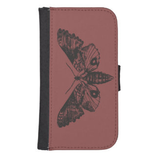 Caisse de portefeuille de téléphone de mite
