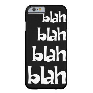 Caisse fade   noire et blanche de l'iPhone 6