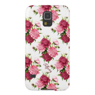 Caisse florale de la galaxie S5 de Samsung de joli