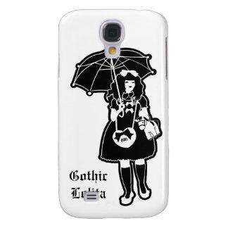 Caisse gothique noire de téléphone de Lolita Coque Galaxy S4