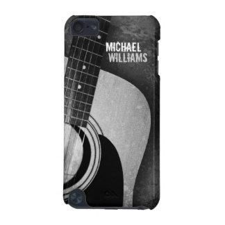 Caisse grunge grise de contact d'iPod de guitare Coque iPod Touch 5G