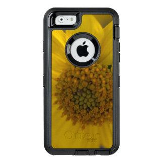 Caisse jaune d'Iphone 6 /6s OtterBox de fleur Coque OtterBox iPhone 6/6s