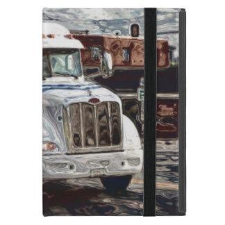 Caisse lourde de camion de transport de conducteur étui iPad mini