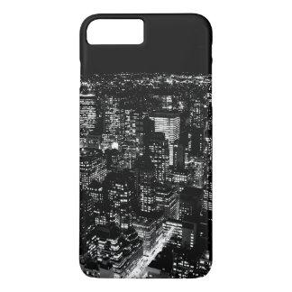 Caisse noire et blanche de l'iPhone 6 de New York Coque iPhone 8 Plus/7 Plus