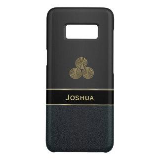 Caisse noire personnalisée de la galaxie S8 de Coque Case-Mate Samsung Galaxy S8
