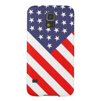 Caisse patriotique de la galaxie S5 de Samsung de Coque Galaxy S5