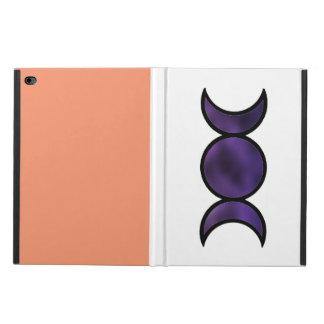 Caisse pourpre de l'iPad Air2 de déesse avec la Coque Powis iPad Air 2