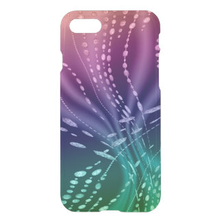 Caisse rare colorée de déflecteur de Clearly™ de Coque iPhone 8/7