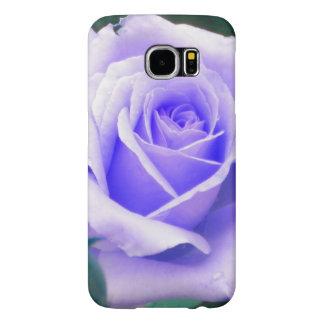 Caisse rose de la galaxie S6 de Samsung de lavande