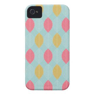 Caisse rose et jaune de l'iPhone 4 de compagnon de Étui iPhone 4