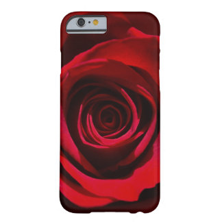 Caisse rose rouge foncé de l'iPhone 6 Coque Barely There iPhone 6