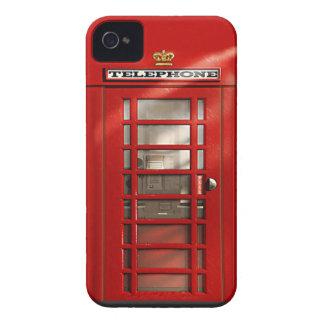 Caisse rouge britannique classique de l'iPhone 4 Étuis iPhone 4