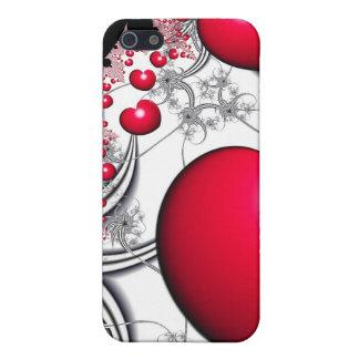 Caisse rouge de l'iPhone 5/5S de coeur de Coques iPhone 5