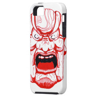 Caisse rouge de l'iPhone 5 de masque iPhone 5 Case