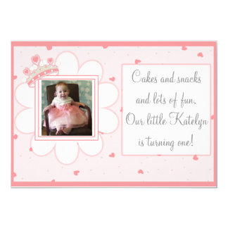 Cakes & Snacks en Veel Pret, Eerste Verjaardag Kaart