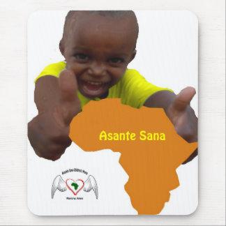 calendario d'immagine, logo, Asante Sana Tapis De Souris