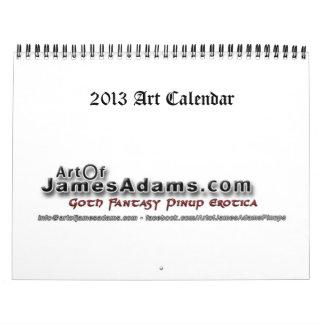 calendrier 2013 d'art