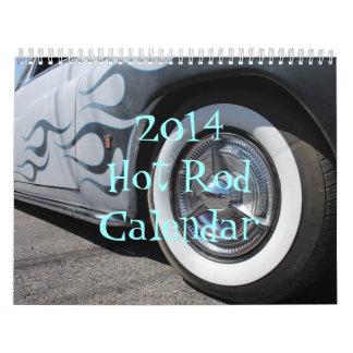 Calendrier 2014 de hot rod