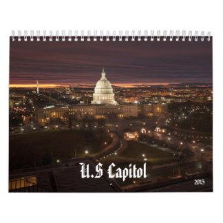 Calendrier 2015 de capitol des USA (Washington DC)