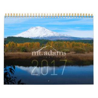 Calendrier 2017 d'institut de Mt. Adams