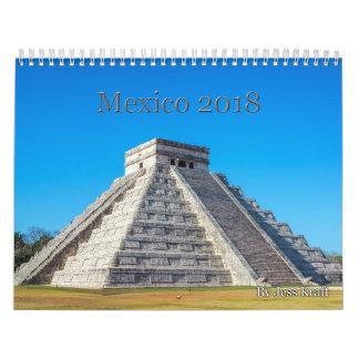 Calendrier 2018 du Mexique