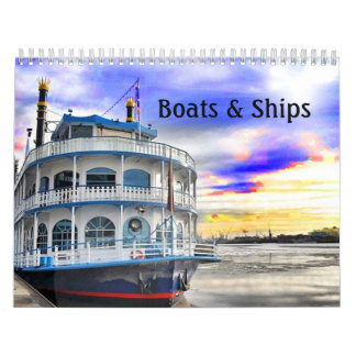 Calendrier de bateaux et de bateaux