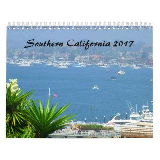 Calendrier de la Californie du sud SOCAL 2017