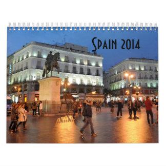 Calendrier de l'Espagne 2014 par CharoseDesign