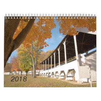 Calendrier de l'Ohio et du comté de Fairfield 2018